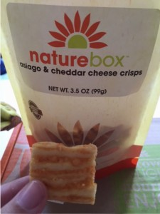 naturebox asiago and cheddar crisps