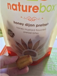 naturebox honey dijon pretzels