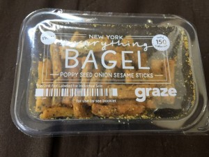Graze everything bagel sticks